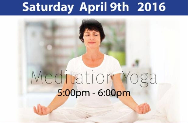 Yoga and Meditation in one class!!!!